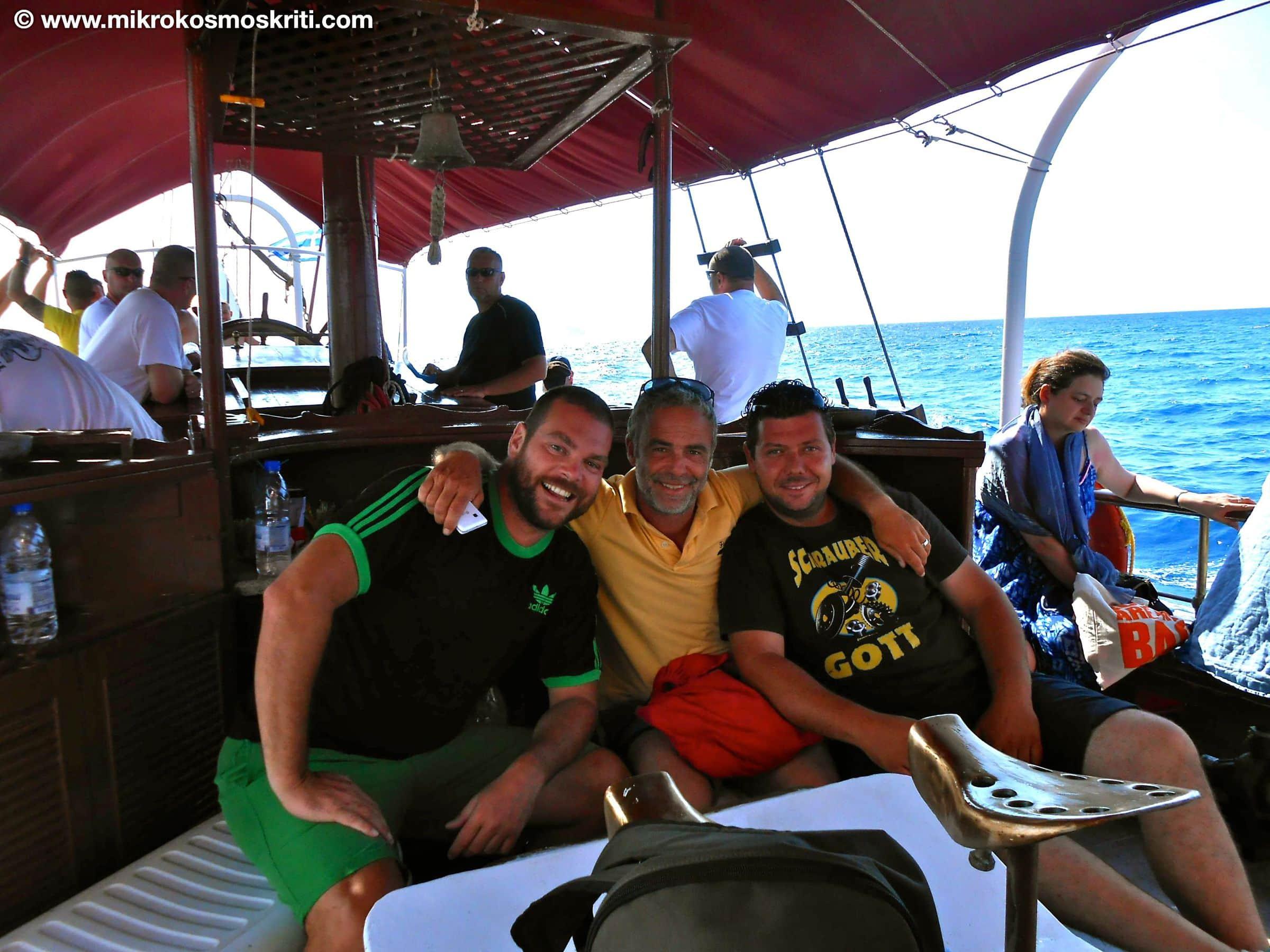 Enrico, Lefteris e Georgios migliorata con sito