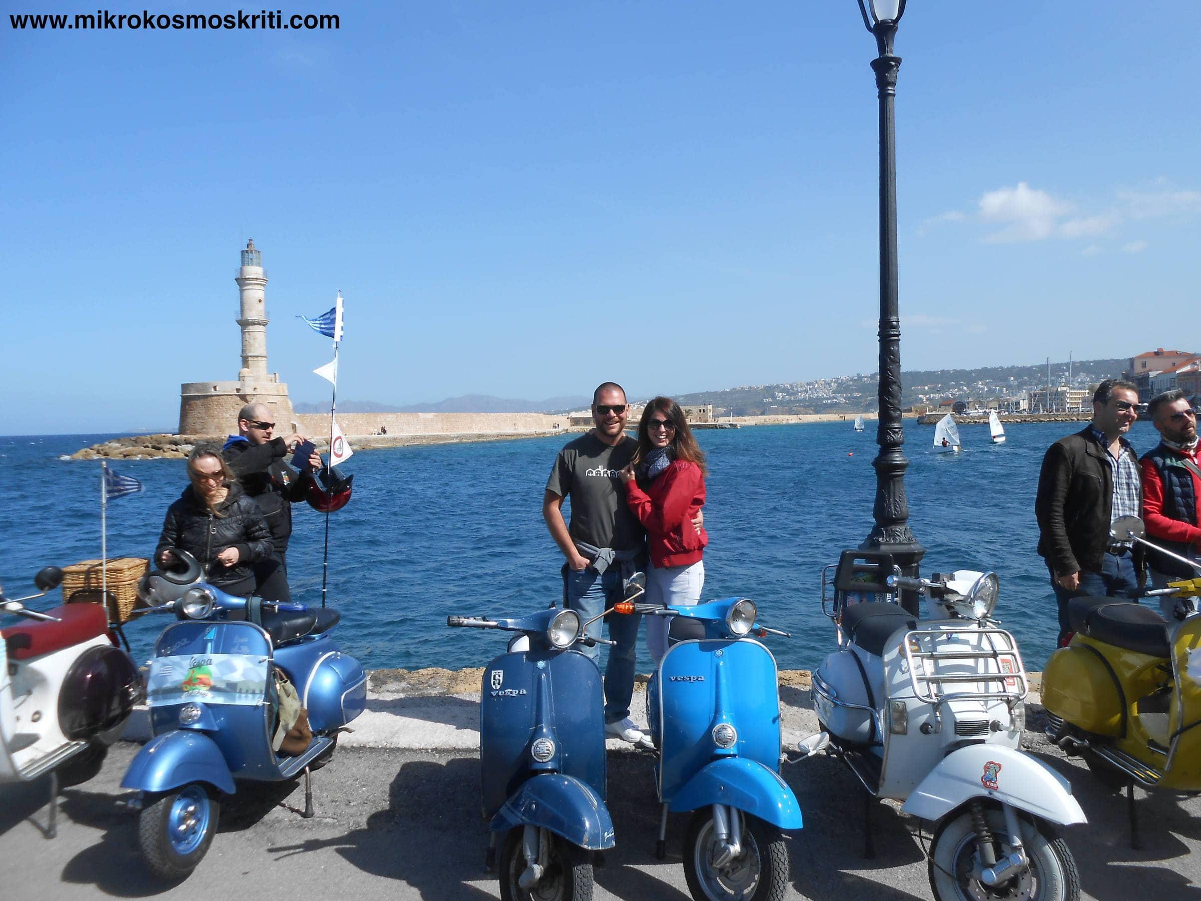 Vespa tour al Porto Vecchio