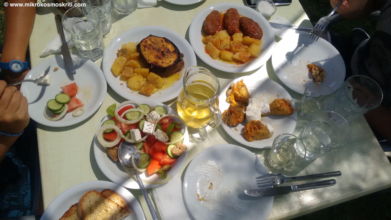 Piatti della taverna Garden
