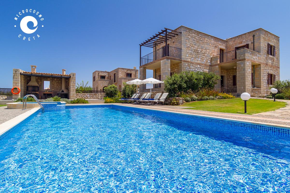Seaside villa with swimming pool Rapanianà - Microcosmo Creta
